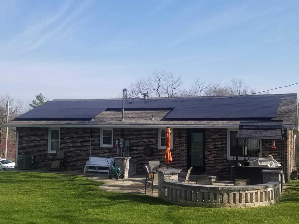 Rooftop solar panels Illinois